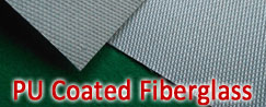 PU Coated Fiberlgass Cloth