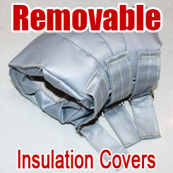 Removable & Reusable Insulation Covers
