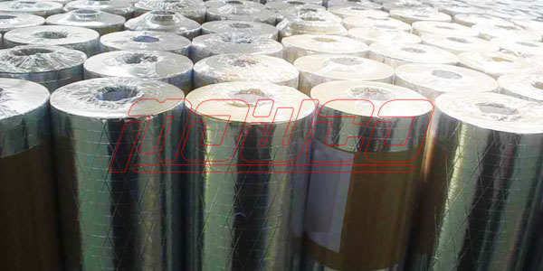 Rockwool Pipe with Aluminium Foil