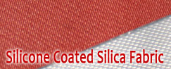 Silicone Coated Silica Fabric